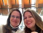 Lynn and her daughter Cora at Crystal Bridges Museum of American Art in Bentonville, Arkansas